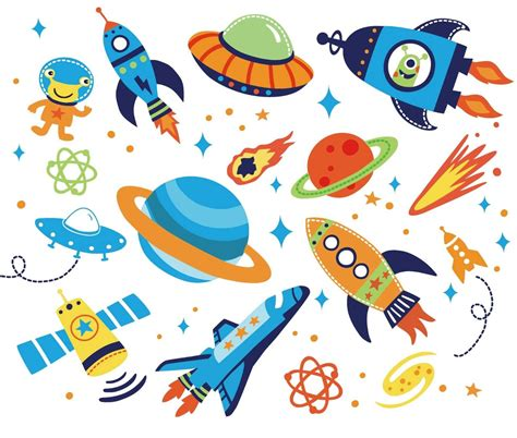 space bedroom stickers outer space kids room peel stick wall decals kids
