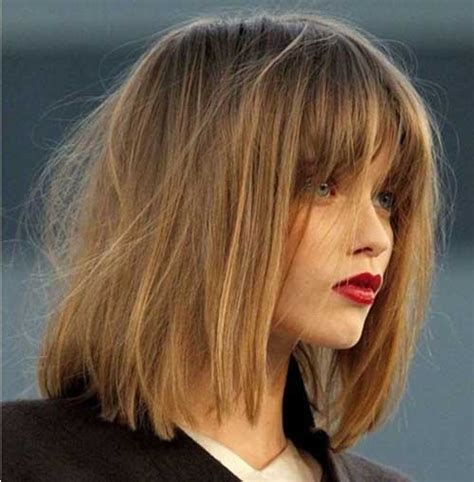 bob hairstyles with long bangs 15 bob haircuts with bangs 2015 2016 bob hairstyles