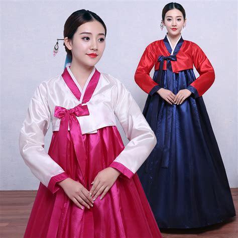 Etnic Dress Korea aliexpress buy traditional hanbok korean dress palace korea wedding