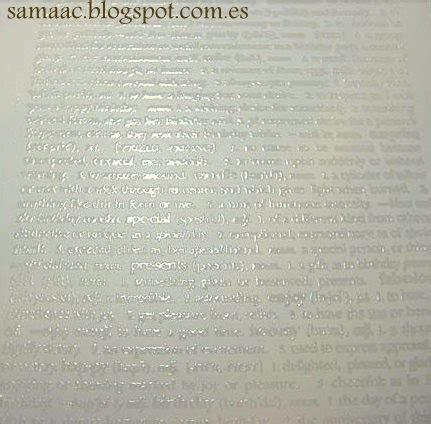 tutorial scrapbook embossing ﺷ ๑ ﺷ ลиqεłล ﺷ ๑ ﺷ tutorial scrapbook doble embossing
