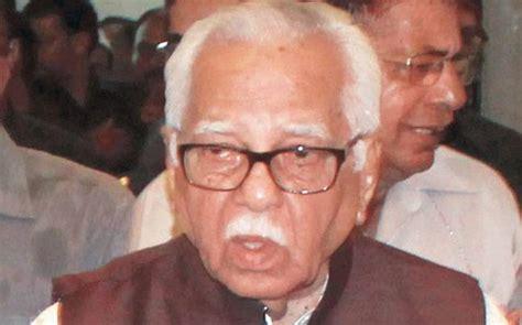 Ram Naik governor ram naik returns lokayukta s appointment file to sp govt mail today news india today