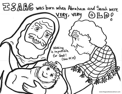 coloring sheet abraham and sarah abraham and isaac a pattern of things to come sunday