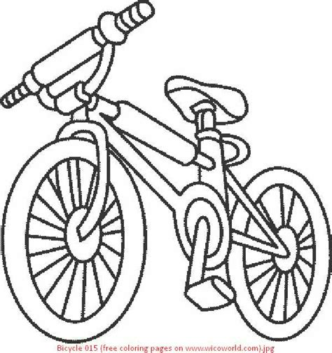 bicycle coloring pages preschool bike coloring page getcoloringpages com