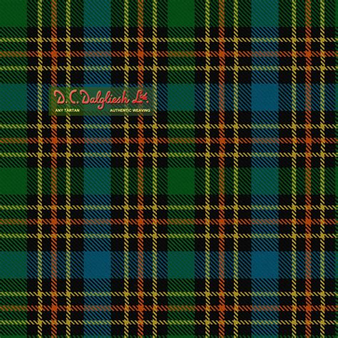 scotch plaid the luxurious lustre of pure spun silk traditional silk
