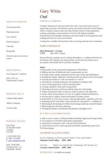 hospitality cv templates  downloadable hotel