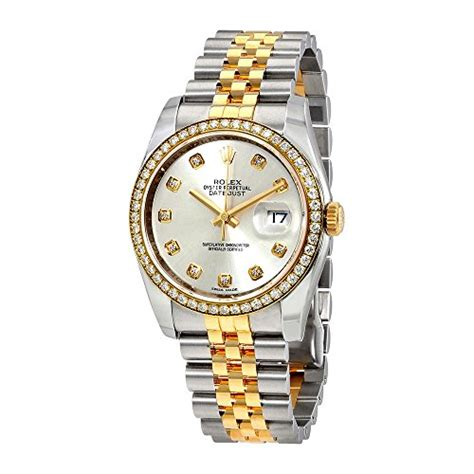 jam rolex oyster silver gold rolex oyster perpetual datejust 36 silver stainless