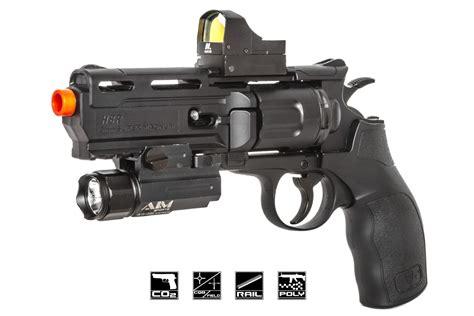 Airsoft Gun Revolver elite h8r co2 revolver airsoft gun black