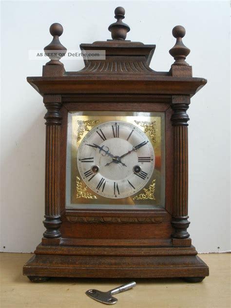 alte tischuhren deutsche tischuhr kaminuhr pendel schl 252 ssel gong