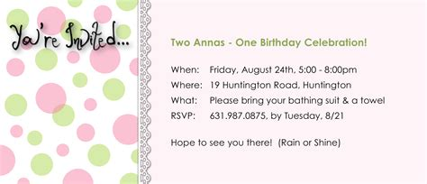 drakorindo fantastic invitation for birthday party through email choice image