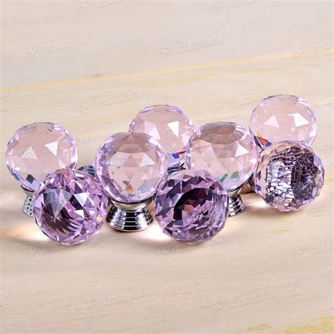 Pink Glass Door Knobs Pink Glass Cabinet Drawer Door Knob Knobs Handle Wardrobe 16 24 32 40pcs Ebay