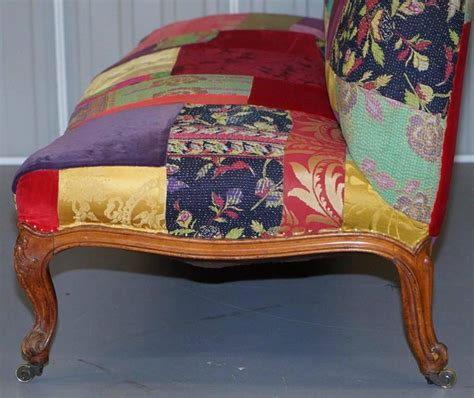 patchwork sofas for sale rare lisa whatmough for liberty london victorian 1860