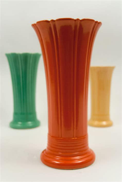 Fiestaware Vase by Vintage 12 Inch Original Fiestaware Pottery