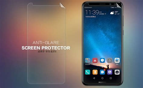 Huawei Mate S Nillkin Anti Gores Clear Screen Guard Protector Bening nillkin anti glare clear matte screen protector
