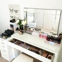 Makeup Desk Organization Ideas 25 Best Ideas About Makeup Desk On Dressing Table Organisation Vanity Area And