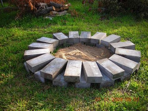 how to dig a fire pit in your backyard build a fire ring or pit