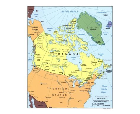 canadian map of major cities maps of canada detailed map of canada in