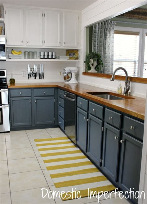 gray blue kitchen cabinets gray harbor favorite paint colors
