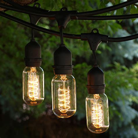 Vintage Outdoor String Lights Ideas Homesfeed Outdoor Vintage String Lights