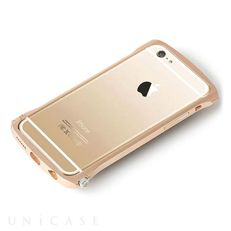 Bumper List Gold Iphone 44s Iphone 55a iphone6s 6 ケース cleave chrono aluminum bumper gold deff iphoneケースは unicase
