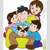 Father's Day With Love Family Stock Photography - Image: 27851872