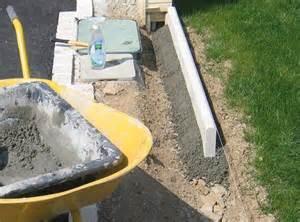 comment poser des bordures de jardin en beton la r 233 ponse