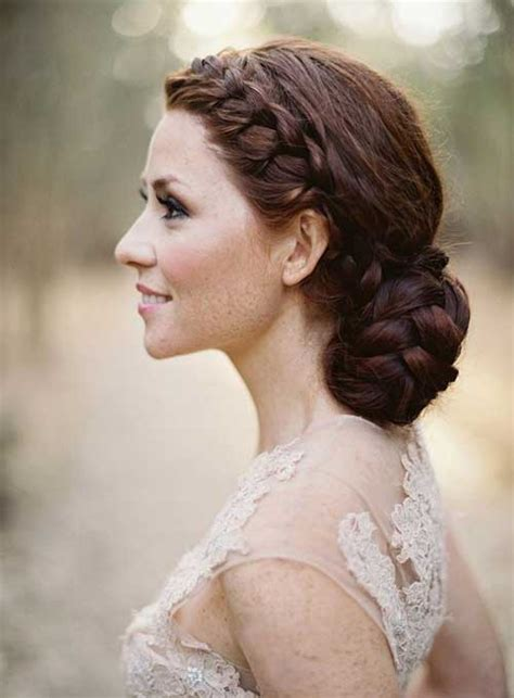fifties updo 25 good wedding braided hairstyles long hairstyles 2016