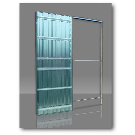 single glass pocket doors