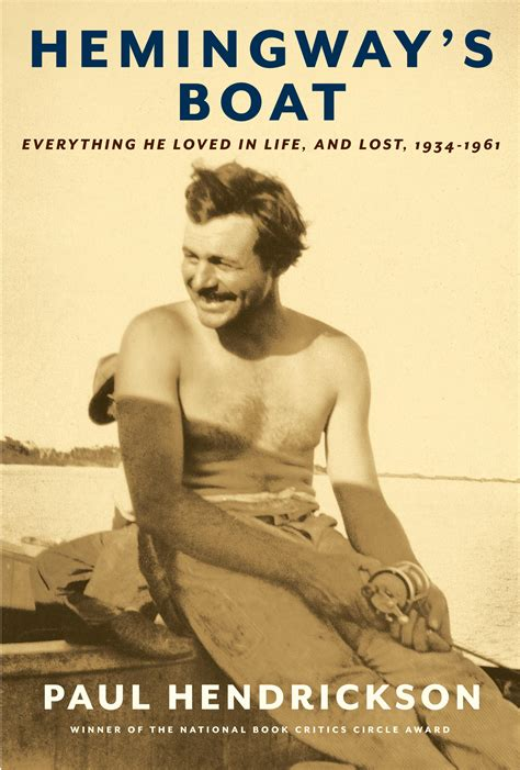 biography ernest hemingway book the art of literature series presents hemingway s boat