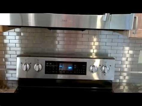 stainless steel tile  splash youtube