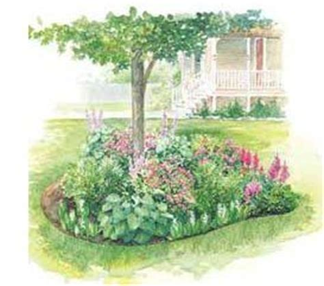 pre planned garden designs and layouts shade garden plans