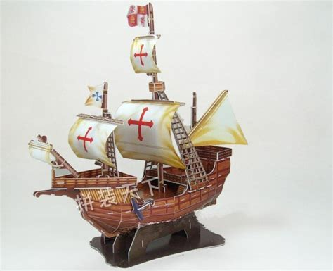 Pirate Ship Papercraft - santa swiftsure pirate ship assembled model 3d paper