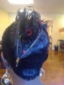 zip hair styl photos zip up hairstyle zipper haircut now