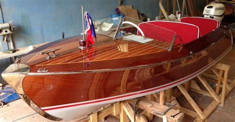 boat plans kits riva scoiattolo replica 1950 s woodenboat magazine