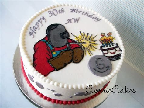 Welding Cake by A Welder S Birthday Cake By Corrie Cakesdecor