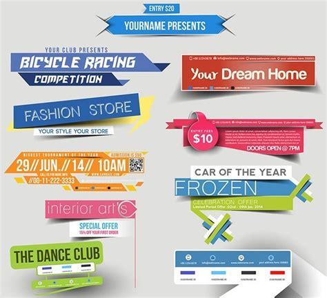 brochure header design vector free creative header design vector titanui