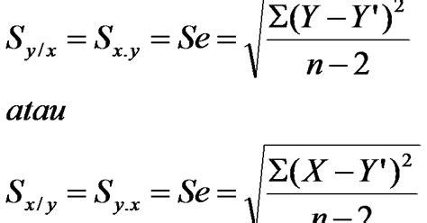 Pelatihan Analisis Regresi Korelasi scientific knowledge analisis regresi korelasi linier sederhana