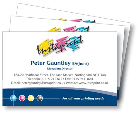 Instaprint Business Cards the fashion and directory let s talk