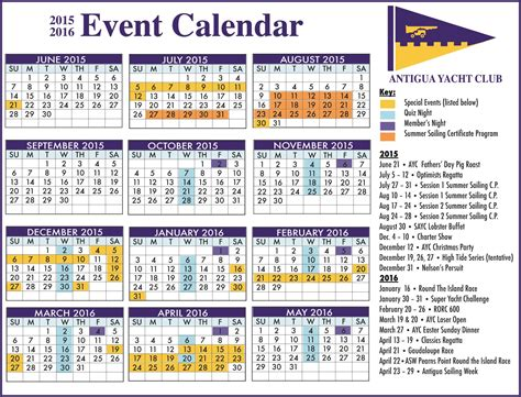 antigua news ayc event calendar