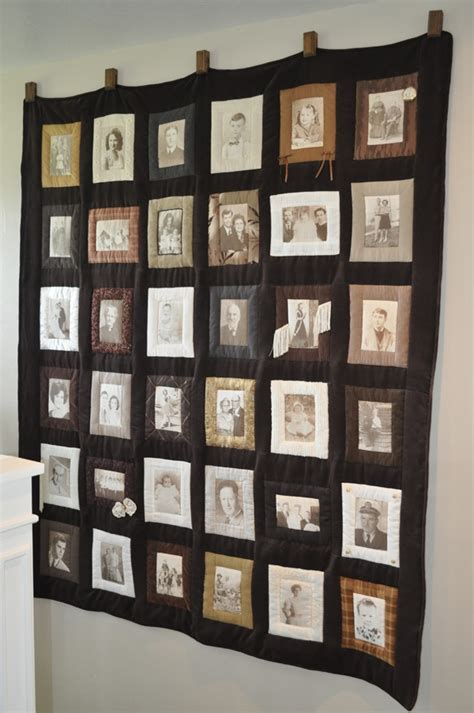 Family Quilts Ideas by 25 Best Ideas About Photo Quilts On Memory