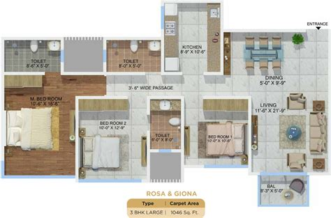 montana floor plans sheth montana in mulund west mumbai price location map
