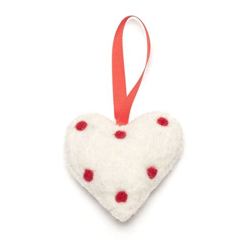 Handmade Felt - handmade felt heartfelt decorations by felt so