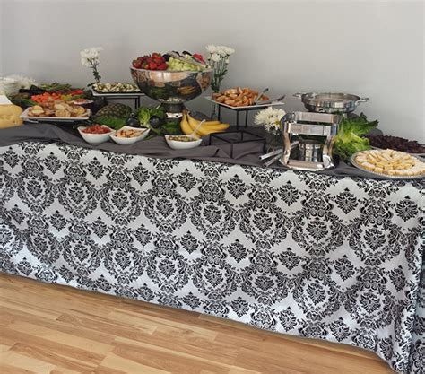 catering linens everything you need to know