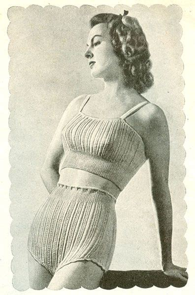 vintage undergarments pattern 20 best knitting undergarments images on pinterest