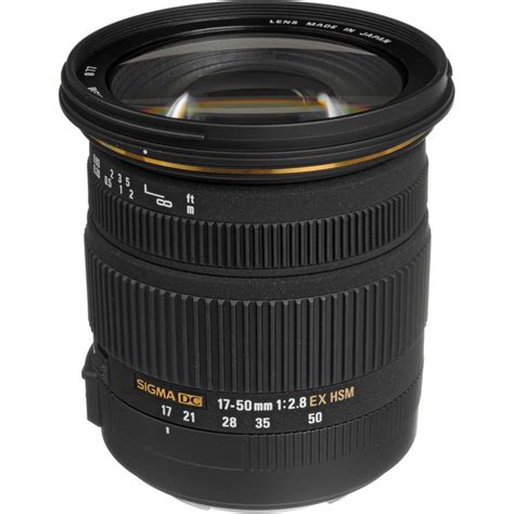 Sigma 50mm deal sigma 17 50mm f 2 8 ex dc os hsm lens for 429 r 569 news at cameraegg