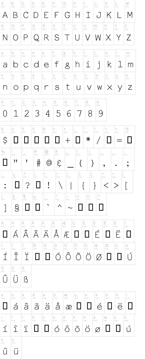 dafont latin everson mono latin font dafont com
