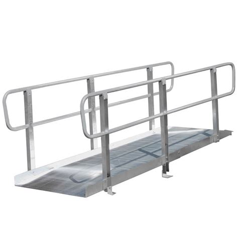 ontrac wheelchair access r with handrails pvi