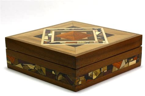 Decorative Wood Boxes by Mosaic Tea Box Tea Bag Selection Box Decorative Wooden Tea Box
