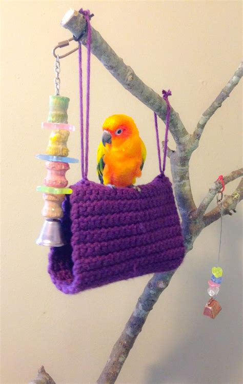 bird beds crochet birds conure and sun on pinterest