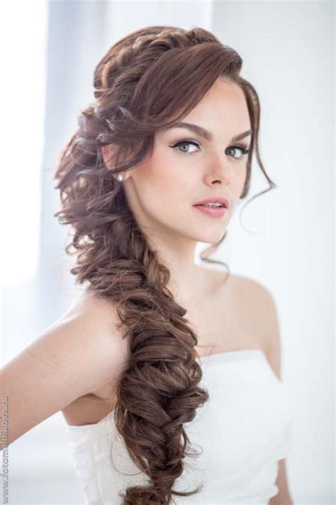wedding hairstyles with side braid stunning wedding hairstyles with braids for amazing look