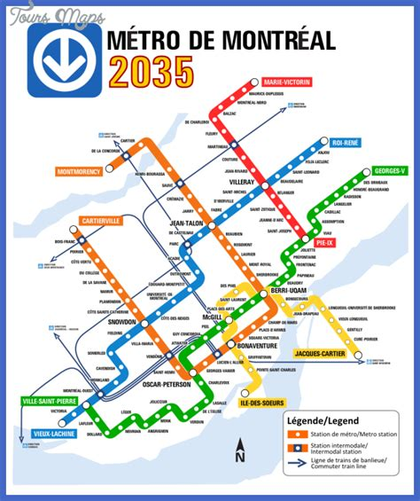 montreal metro map montreal subway map toursmaps
